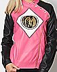 Pink Power Rangers Moto Jacket
