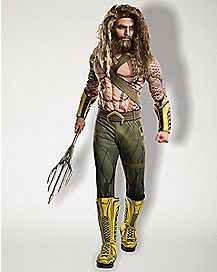 Adult Aquaman Costume - Batman v Superman: Dawn Of Justice