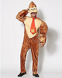 Adult Donkey Kong Costume - Super Mario Bros