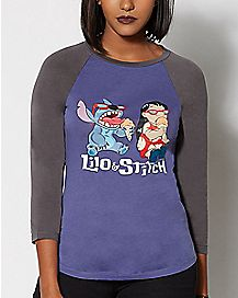 Lilo & Stitch Ice Cream T Shirt - Lilo & Stitch