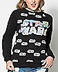 Hologram Star Wars Sweatshirt