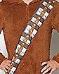 Adult Hooded Chewbacca Star Wars Pajama Costume