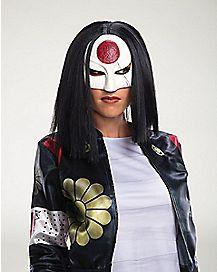 Adult Katana Wig - Suicide Squad