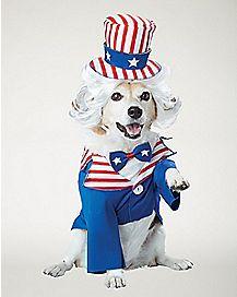Uncle Sam Dog Costume