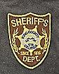Debossed Logo Sheriff Rick The Walking Dead Backpack