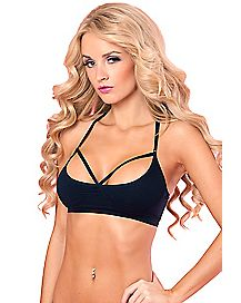 Frontal Exposure Sports Bra