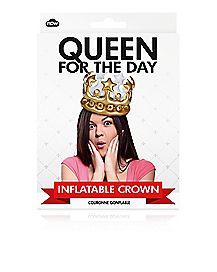 Queen Inflatable Crown