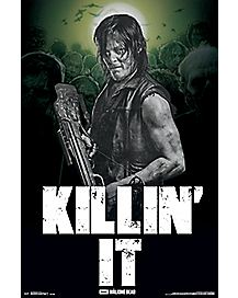 Killin It Daryl The Walking Dead Poster