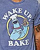 Cookie Monster Wake Up T Shirt