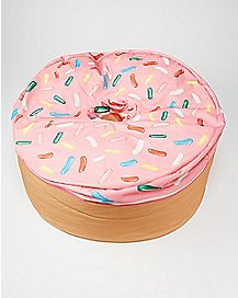 Pink Donut Bean Bag