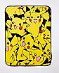 Pikachu Fleece Blanket - Pokemon