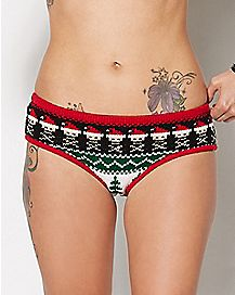 Santa Skull Panties