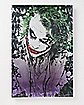 Dark Knight Joker Metallic Sign