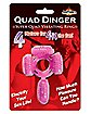 Quad Dinger Vibrating Cock Ring