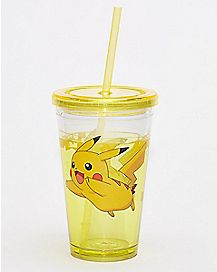 Pikachu Cup With Straw 16 oz. -  Pokemon