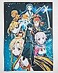 Group Shot Sword Art Online Poster