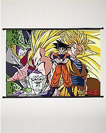 Villains Dragon Ball Z Fabric Poster