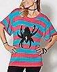 Striped Spider-Gwen Sweater - Marvel Comics