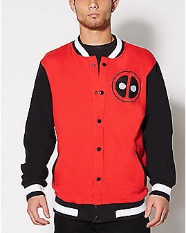 Deadpool Varsity Jacket - Marvel Comics