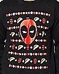 Taco Deadpool Ugly Christmas Sweater