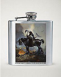Frazetta Death Dealer Horse Flask - 8 oz.