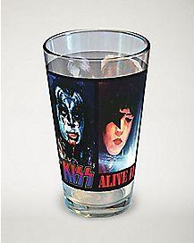 Kiss Pint Glass - 16 oz