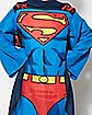 Being Superman Fleece Blanket With Sleeves