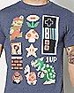 Retro Nintendo Pixel T Shirt