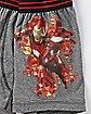 Iron Man Perform Boxers - Marvel Comics