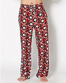 Captain America Shield Lounge Pants - Marvel Comics