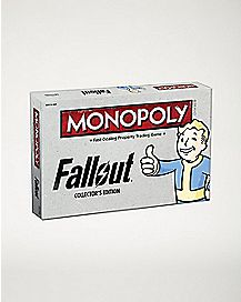 Collector's Edition Fallout Monopoly Board Game