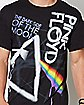 Dark Side of the Moon Graffiti Pink Floyd T Shirt