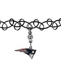 New England Patriots Choker Necklace