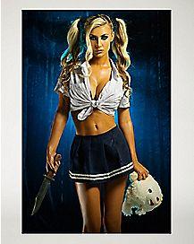 Killer School Girl Poster