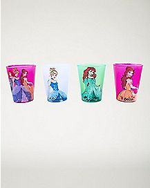 Disney Princess Mini Glass 4 Pack - 1.5 oz.