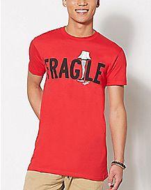 A Christmas Story Fragile Lamp T Shirt