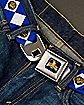 Blue Power Rangers Seatbelt Belt
