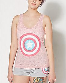 Captain America Pajama Set - Marvel Comics