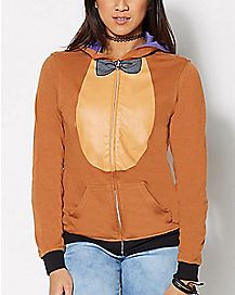 Bonnie and Freddy Reversible Hoodie - Five Nights at Freddy's