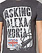 Microphone Asking Alexandria T Shirt