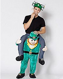 Adult Leprechaun Piggyback Costume