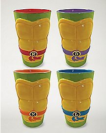 Pint Glass 4 Pack - 16 oz. - TMNT