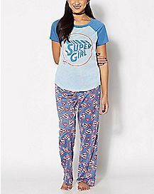 Supergirl Pajama Set
