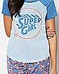 Supergirl Pajama Set