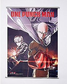 One Punch Man Wall Scroll Poster