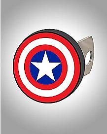 Captain America Shield Hitch Cover - Marvel Comics