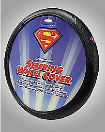 Superman Logo Steering Wheel Cover - DC Comics