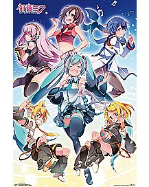 Hatsune Miku Group Poster