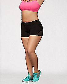 Cardio Plus Size Booty Shorts