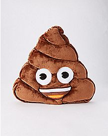 Plush Poop Emoji Backpack